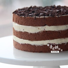 浓情黑森林蛋糕---送给心爱的TA