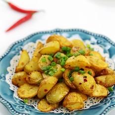 香辣少油健康版的——炸薯角