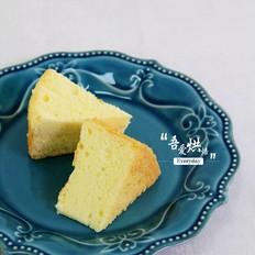 香软柠檬戚风蛋糕