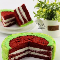 夏日小清新&西瓜蛋糕