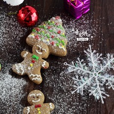 圣诞姜饼人