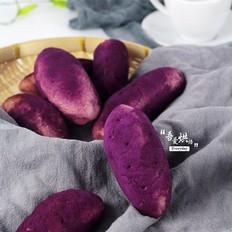 低脂健康的紫薯面包