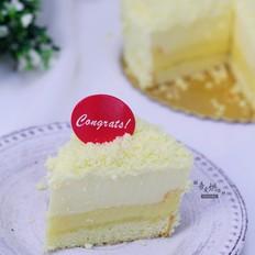 幸福感爆棚的——双层芝士蛋糕