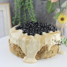 网红黑糖珍珠酱爆蛋糕