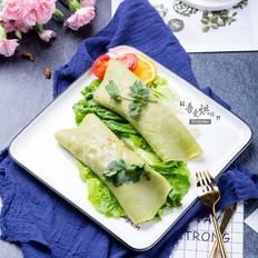 懒人早餐&蔬菜卷