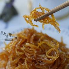 糖渍橙皮的做法