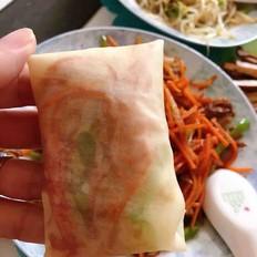 饺子皮加工春饼卷菜
