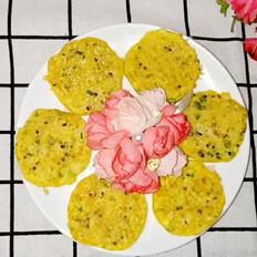 葱香藜麦鸡蛋饼