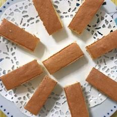 香甜松软的海绵蛋糕