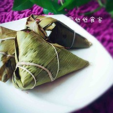豆沙粽子(自制豆沙)