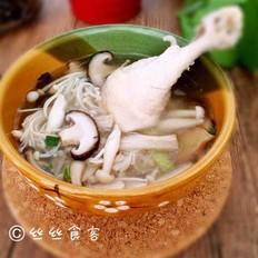 养生菌菇鸡汤