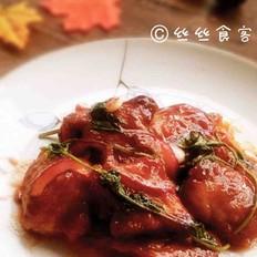 番茄酱锅包肉