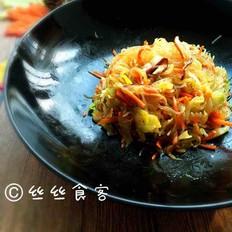 小炒粉丝圆白菜