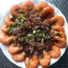 铁板基围虾
