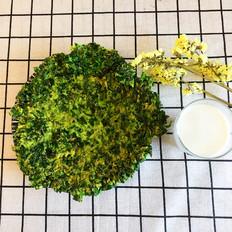 春天草头饼(金花菜)早餐的做法