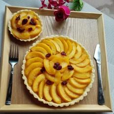 黄桃桔子派