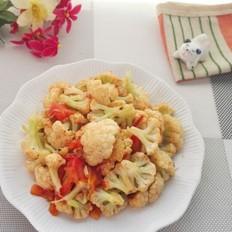 家庭版番茄菜花