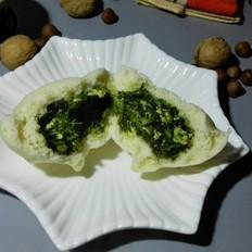 茴香鸡蛋素包子