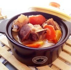 葱头胡萝卜羊肉煲