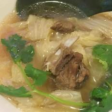 羊肉(大白菜羊肉汤)