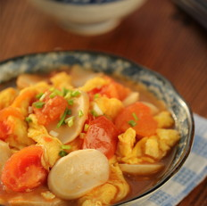番茄杏鲍菇炒蛋
