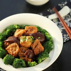 香菇烧酿豆腐泡