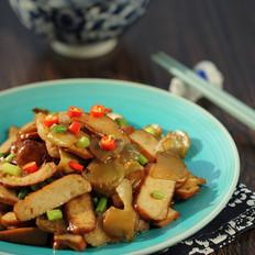 榨菜炒干子