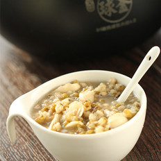 绿豆薏米百合羹