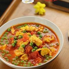 青豆番茄炒鸡蛋