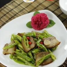 杭椒炒卤肉