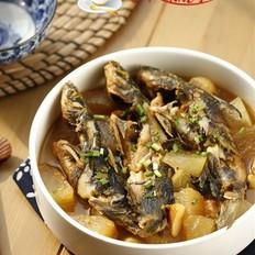 黄骨鱼炖冬瓜