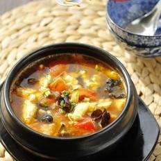 木耳番茄鸡蛋汤