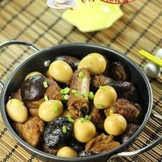 香菇鹌鹑蛋烧排骨