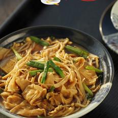 金针菇豆油皮烧肉