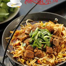 牛肉千张芽菜火锅