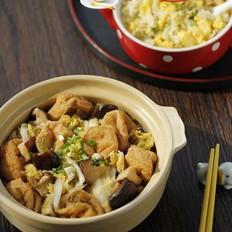 香菇豆腐泡娃娃菜