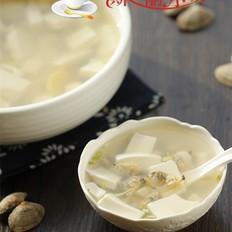 蛤肉豆腐汤