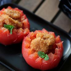 粉蒸番茄虾