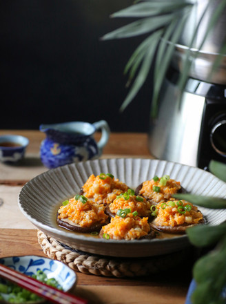 香菇蒸虾盏的做法