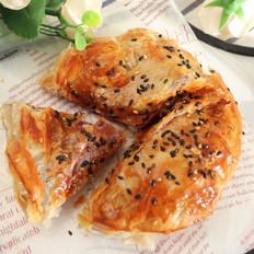奶香芝士紫薯酥饼