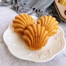 香蕉贝壳小蛋糕