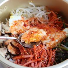 家庭自制韩式拌饭