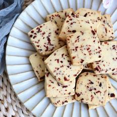 酥脆好吃的蔓越莓饼干