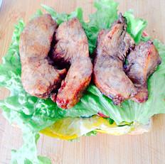 香煎鸡肉三明治