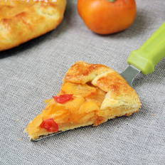 甜柿格雷派饼