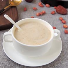 红枣花生牛奶