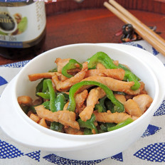 青椒炒鸡脯