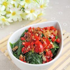 涼拌芹菜葉