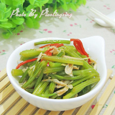 虾米拌芹菜
