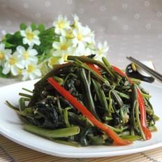 椒丝蒜蓉空心菜